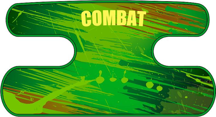 ハンドラップ BLAST COMBAT(面ファスナー)