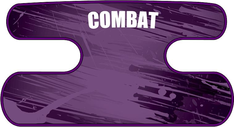 ハンドラップ BLAST COMBAT パープル