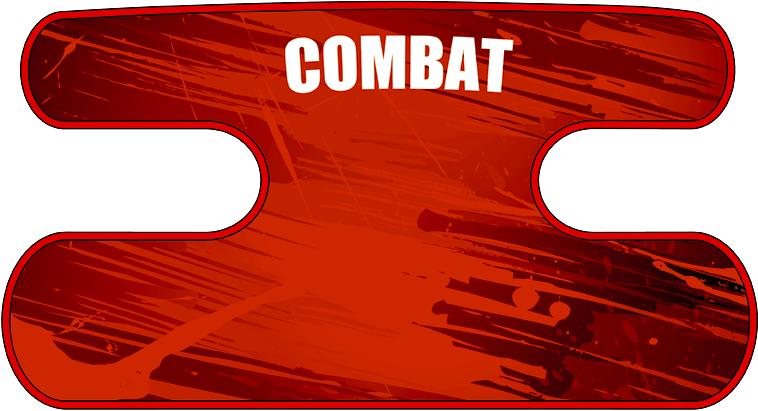 ハンドラップ BLAST COMBAT レッド