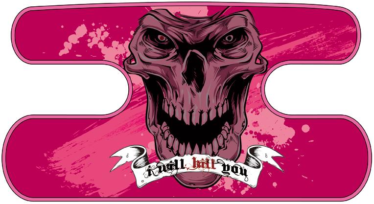 ハンドラップ I Will Kill You ピンク