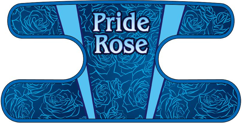 ハンドラップ Pride Rose ブルー