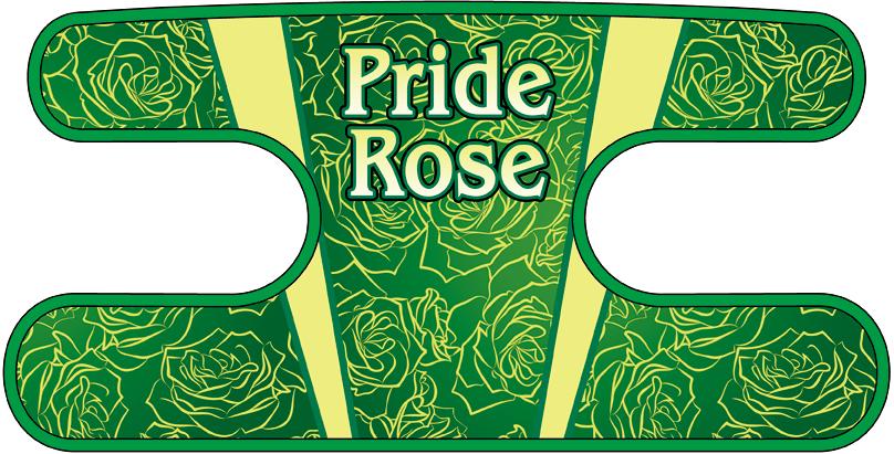 ハンドラップ Pride Rose グリーン