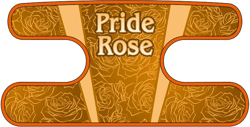 ハンドラップ Pride Rose オレンジ