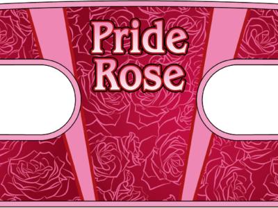 ハンドラップ Pride Rose (面ファスナー)