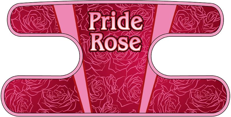 ハンドラップ Pride Rose ピンク