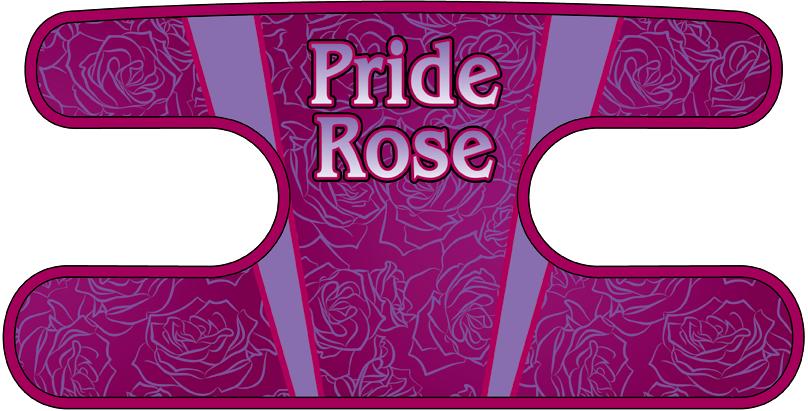 ハンドラップ Pride Rose パープル