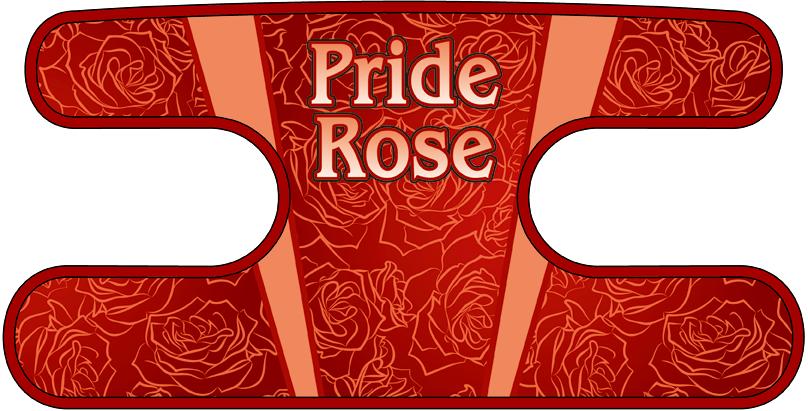 ハンドラップ Pride Rose レッド