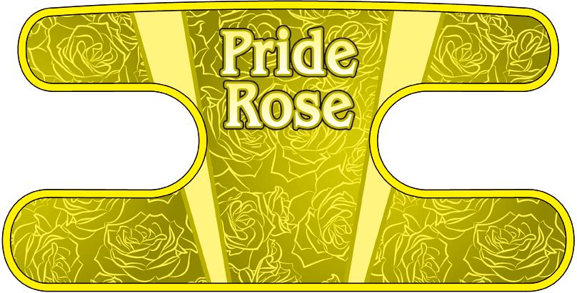 ハンドラップ Pride Rose イエロー