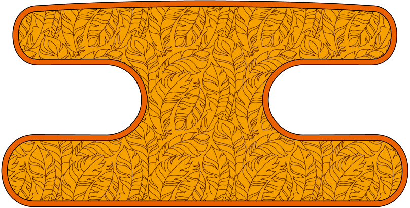 ハンドラップ フェザーラッシュ オレンジ