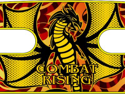 ボディコンバット用 ハンドラップ Combat Rising Wyvern (面ファスナー)