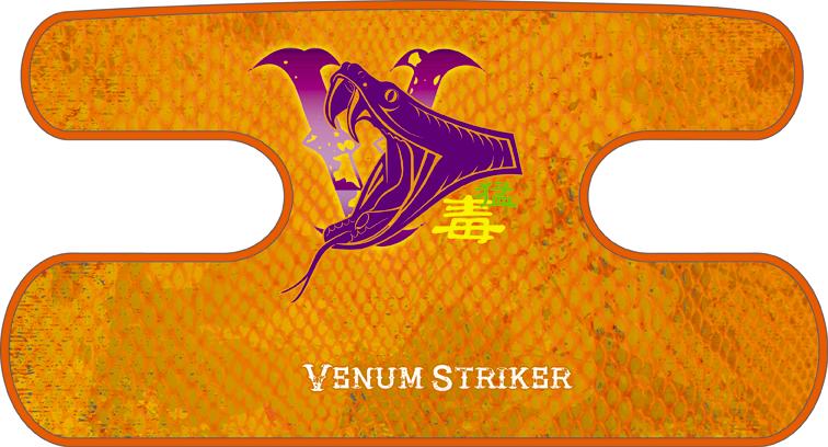 ハンドラップ Venum Striker オレンジ