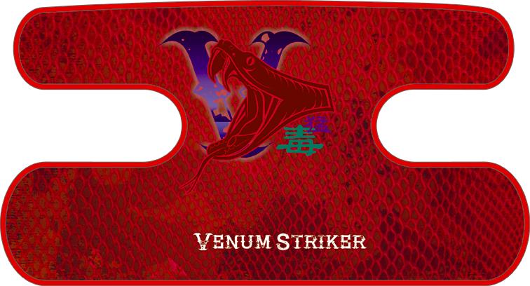 ハンドラップ Venum Striker レッド