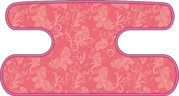 ハンドラップ バタフライ ピンク×ピンク