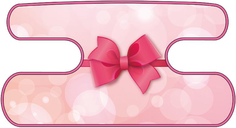 ハンドラップ Charm Ribbon ピンク