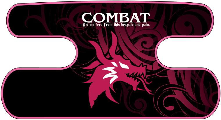 ハンドラップ Dragon Head ピンク