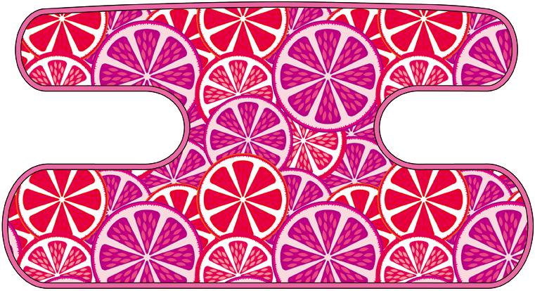 ハンドラップ Citrus Splash ピンク×パープル