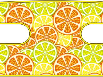 ハンドラップ Citrus Splash (面ファスナー)