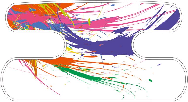 ハンドラップ Colorful Splash カラーミックスC