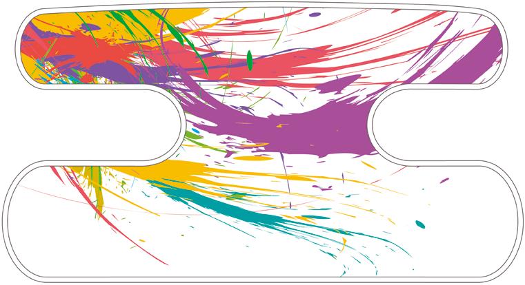 ハンドラップ Colorful Splash カラーミックスF