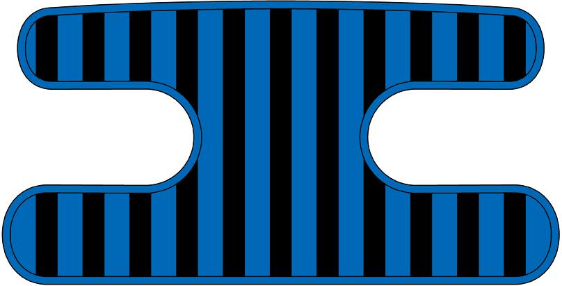 ハンドラップ ライナーズ ブラック×ブルー
