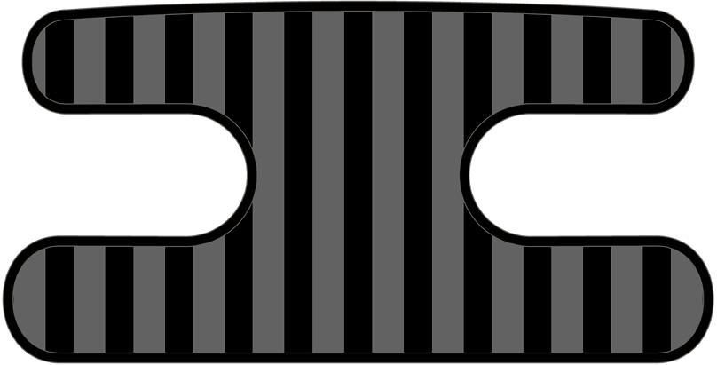 ハンドラップ ライナーズ ブラック×グレー