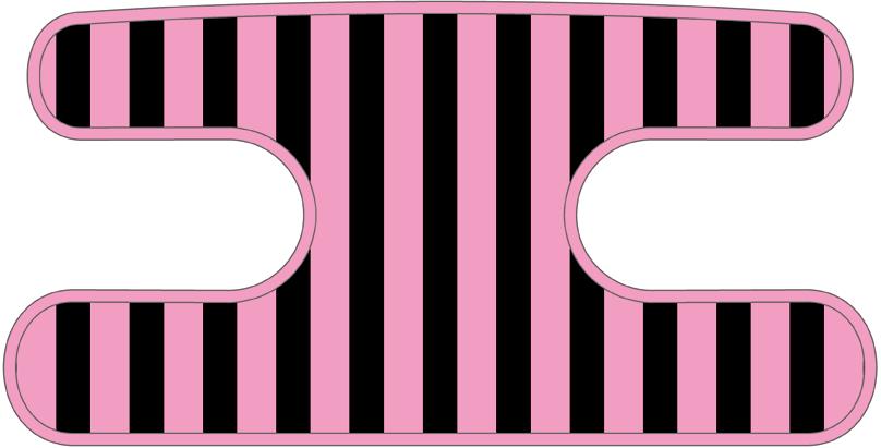 ハンドラップ ライナーズ ブラック×ピンク