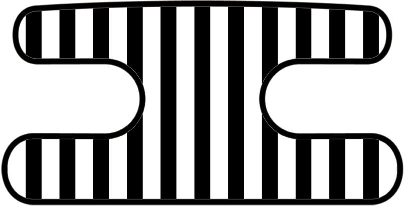 ハンドラップ ライナーズ ブラック×ホワイト