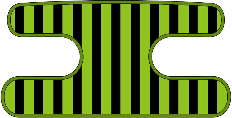 ハンドラップ ライナーズ ブラック×イエローグリーン