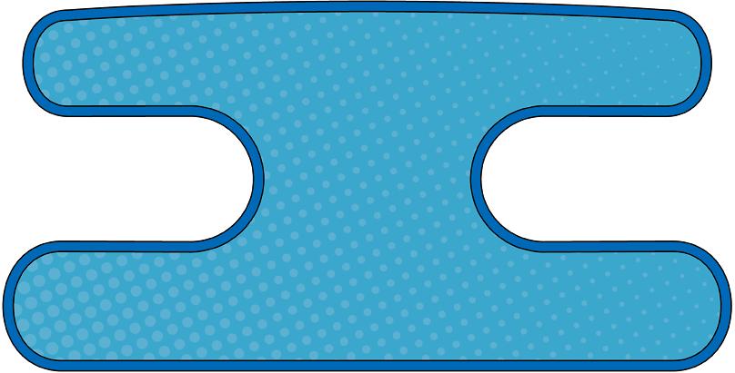ハンドラップ Dot Dot ブルー