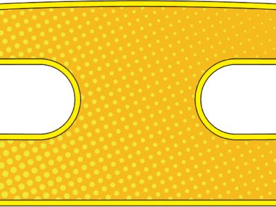 ハンドラップ Dot Dot (面ファスナー)