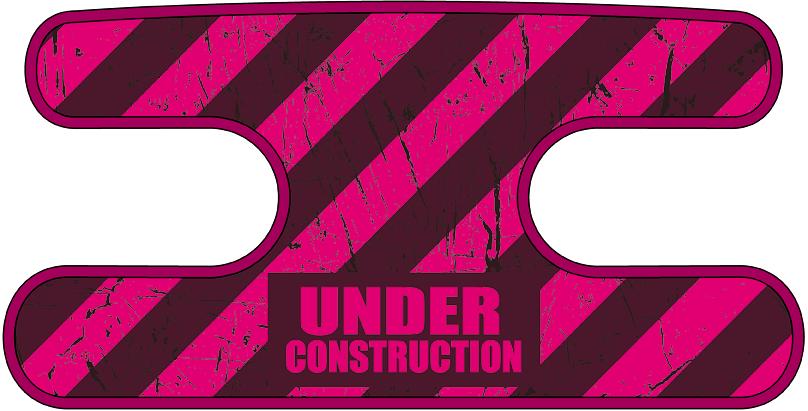 ハンドラップ Under Construction マゼンタ