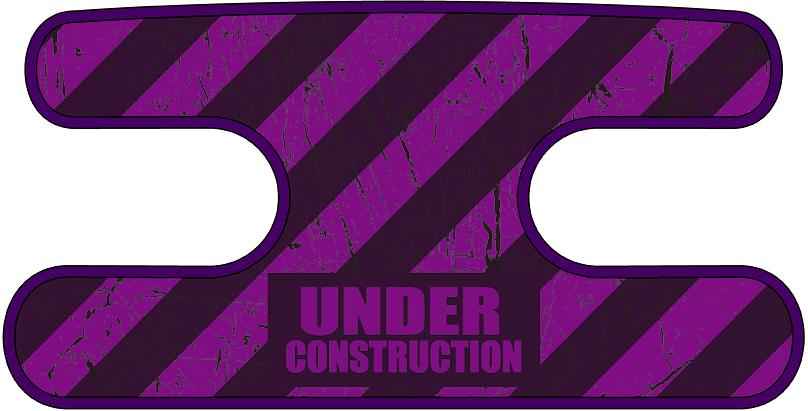ハンドラップ Under Construction パープル