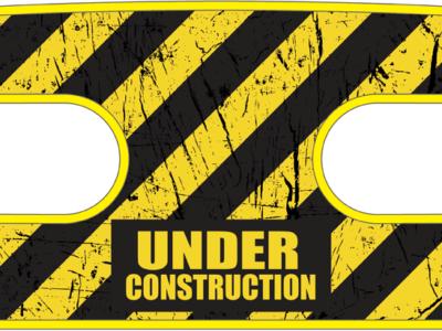 ハンドラップ Under Construction (面ファスナー)