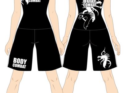 レディス タンクトップ×ファイトショーツ Dragon Tribe