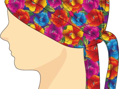 ヘッドセット Colored Flower